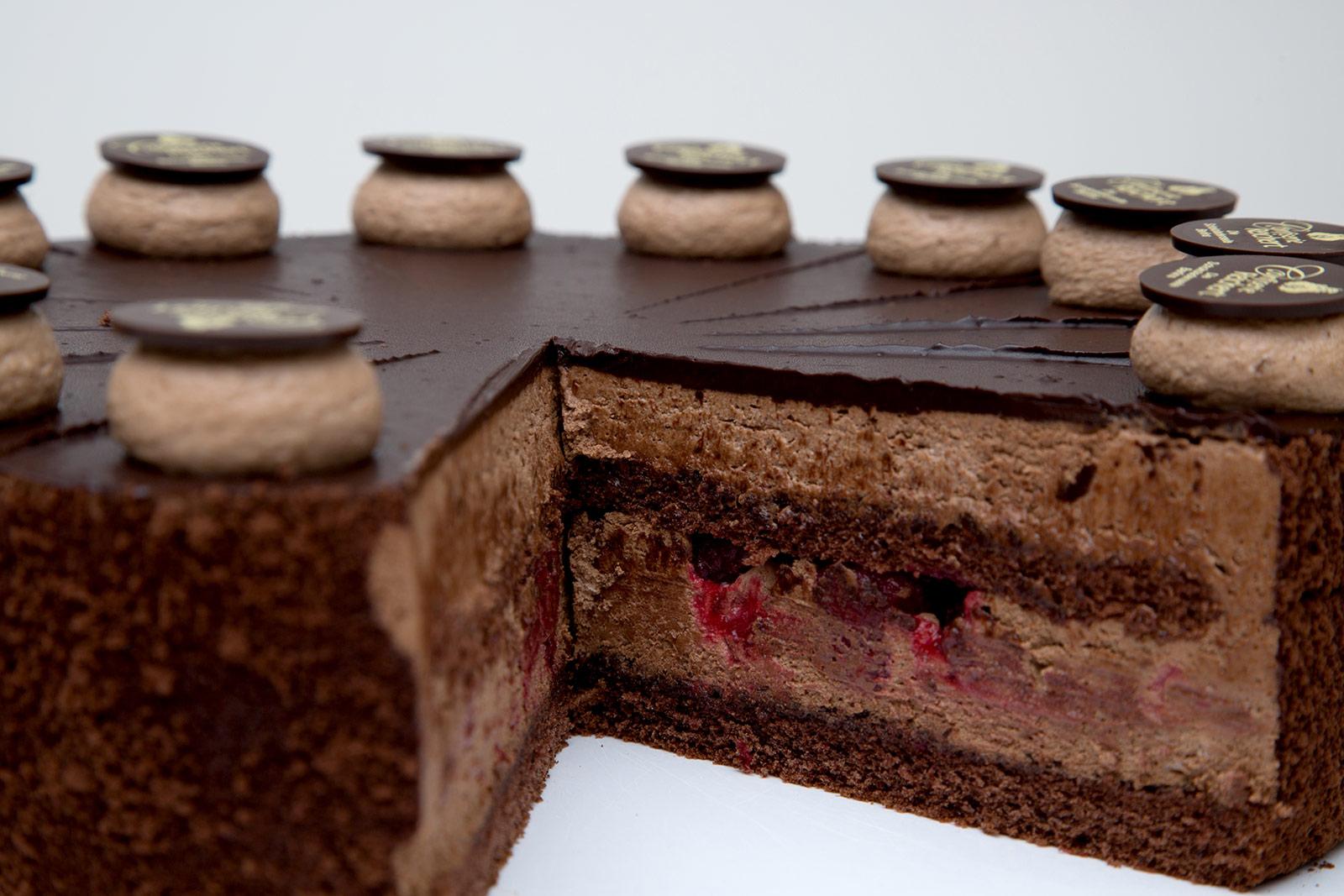Mousse-au-Chocolat-Himbeere-Anschnitt