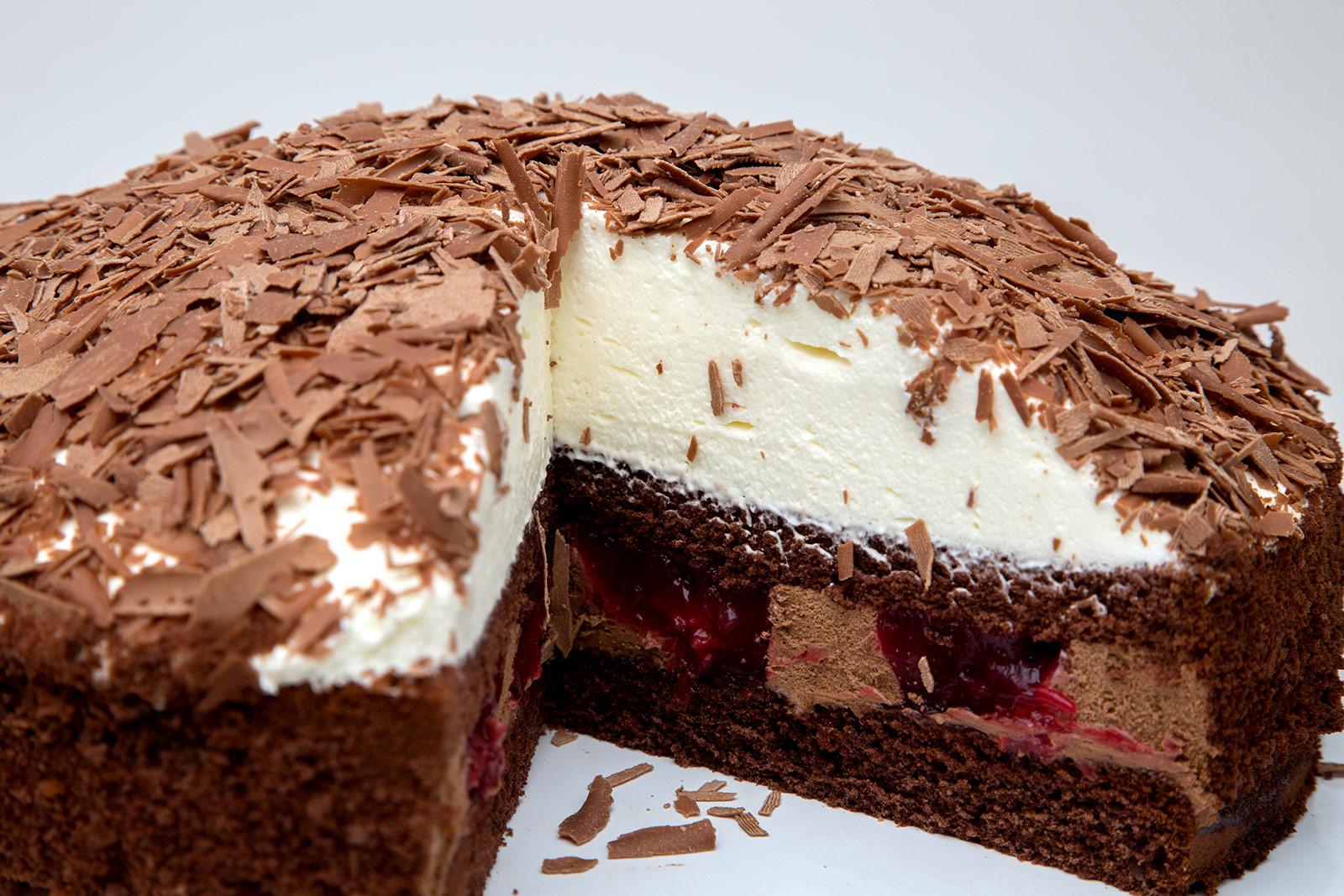 Torte Schwarzwälder Sahne