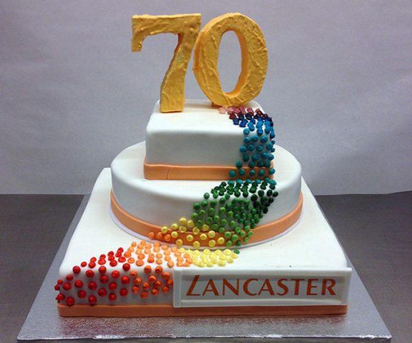 Lancaster-Torte-fertig
