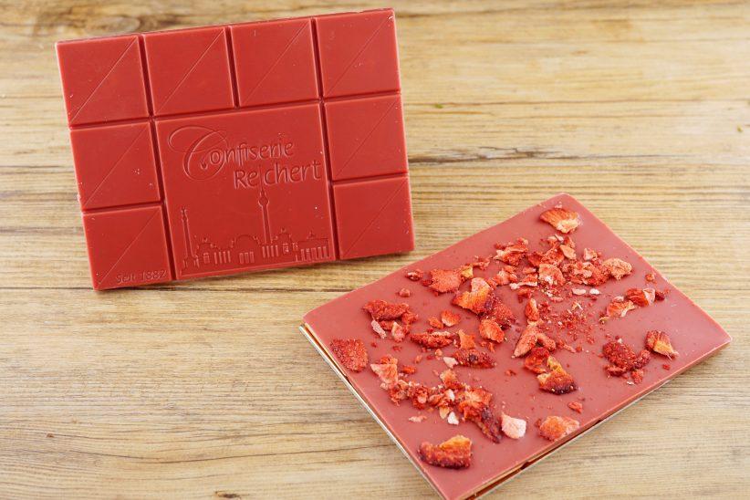 Reichert_Tafelschokolade Erdbeer